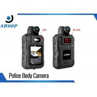 HD 1080P Wearable Small Body Cams For Police Officers 360 Degree Rotation