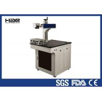 Buy cheap CO2 Laser Engraving Machine , Buttons / Snaps / Wood / Jeans / Cloth Laser Engraver from wholesalers