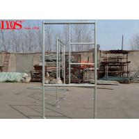 Buy cheap 3'×5' Steel Frame Scaffolding Light Weight With Drop Lock Pins Type from wholesalers