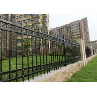 Buy cheap Iron Decorative Wire Fencing  Plastic / Concrete Feet Hot - Dipped Galvanized from wholesalers