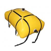 Buy cheap Sealed 2000 Liter Flexible Fuel Bladder ,Yellow Anti-UV Fuel Pillow Tanks from wholesalers
