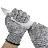 Buy cheap Food Grade Anti Cut Gloves Hand Protection Guantes Anticorte Level 5 Work Safety from wholesalers