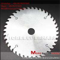 Buy cheap Custom Cutter PCD circular saw blade for laminate Panel Sizing Scoring Alisa@moresuperhard.com from wholesalers