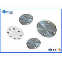 Buy cheap Alloy 718 N07718 ASTM B637 Blind Plate Flange Forged ASME B16.47 Series A B Size 2 from wholesalers