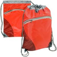 Buy cheap Zip Pouch Custom Drawstring Backpack - 14w x 18.5h from wholesalers