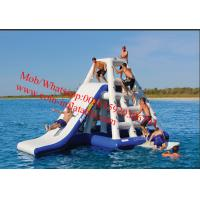 Buy cheap giant inflatable water floating slides, inflatable water park from wholesalers