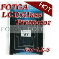 Buy cheap Pro Optical Digital Camera LCD Screen FOTGA Glass Protector Cover for Panasonic LX-3 from wholesalers