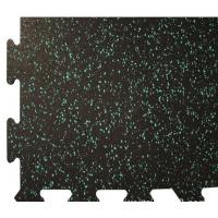 Buy cheap Rinterlocking Foam Gym Mats Black SBR Particles EPDM Star Points from wholesalers