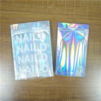 Buy cheap Biodegradable Iridescent Mylar Laser Pouch Plastic Bag Packaging Salt Coffee Body Scrub from wholesalers