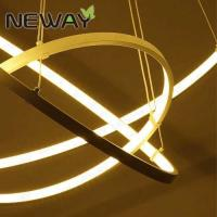 Buy cheap Modern brief circular hanging led lights Brief modern indutrial design pendant light Modern chandelier drops from wholesalers