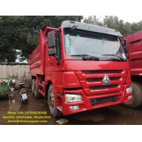 Buy cheap 20 Cubic Meters Used Commercial Dump Trucks 375 Hp Horse Power CE Standard product