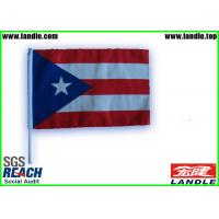 Buy cheap Outdoor Custom Beach Country Car Flags Digital Printing 30 * 45cm from wholesalers
