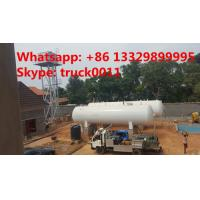 Buy cheap 50m3 China cheapest price domestic lpg gas tank for sale, high quality 25tons above ground lpg gas storage tank for sale from wholesalers