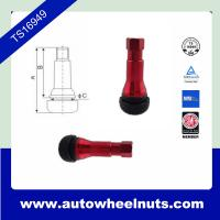 Buy cheap Custom Red Zinc Alloy Tire Valve Stem Tr413 ISO / TS16949 Standard from wholesalers