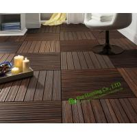 Buy cheap Indoor-Outdoor Bamboo Tile Manufactuer In China, Water Resistant Bamboo Deck Tiles For Sale from wholesalers