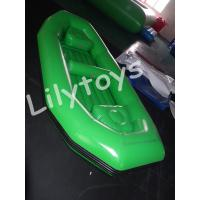 Buy cheap customized Green Kids Inflatable Pools boat Floating With Logo Printing from wholesalers