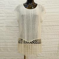 Buy cheap Customized Acrylic / Polyamide Womens Tank Tops Breathable white color from wholesalers
