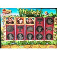Buy cheap Bean Talks Jackpot Slot Video Machine With Spanish Language Games And Boards from wholesalers