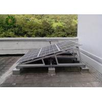 Buy cheap Simple Triangle Shape Flat Roof Solar Mounting Systems Traditional Type Foldable Brackets from wholesalers