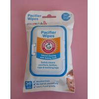 Buy cheap 100% Food Grade Pacifier Cleansing Wet Wipes from wholesalers