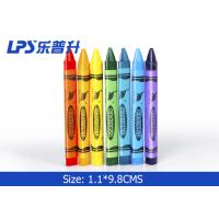 Buy cheap Colorful Triangle Kids Painting Tools Gel Wax Crayons Non Toxic 12 Colors from wholesalers