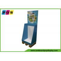 Europe Quarter Pallet Retail Display Bins , 60x40cm Dump Bin Display For Blender Machine DB040