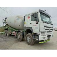 China SINOTRUCK Howo Used Cement Mixer Trucks 4 Axles 2015 Year XT5310GJBZZ38G5 on sale