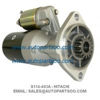 Buy cheap YANMAR ENGINE STARTER S114-483A S114483A 12957377010 17100877010 S114-257 S114-257G from wholesalers