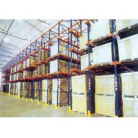 Buy cheap Drive In Drive Through Racking System , Industrial Pallet Shelving For Food / Drink Storage from wholesalers