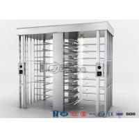 Buy cheap Automatic Security Full Height Turnstile Double Lane With Impact Resistance With 304# Stainless Steel from wholesalers