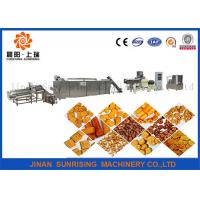 Buy cheap Corn Flour Snack Food Production Line 22 - 30kw Output 100 - 150kg / H Steady Performance from wholesalers