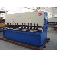 Quality Fully Automatic Guillotine Shearing Machine / Sheet Metal Shear for sale