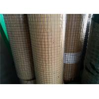 Buy cheap Hot Dipped Welded Wire Sheets , Galvanized Steel Welded Wire 1.22 X 25m from wholesalers