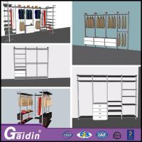 Buy cheap metal fabric portable wall wardrobe design wooden new walk in wardrobes for 2015 from wholesalers
