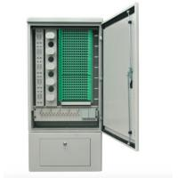 Buy cheap 288 Core SMC Fiber Optic Cross Connect Cabinet For Outdoor Cable Connections from wholesalers