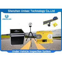Buy cheap Fixed Automatic Under Vehicle Inspection System 2 Years Warranty For Car Scanning from wholesalers