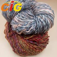 Buy cheap Colorful Acrylic / Cotton / Wool Yarn For Knitting Woman Scarf In Spring / Winter product