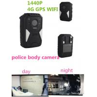 Buy cheap OEM 1440P Wearable Wifi Camera / Waterproof Live Streaming Body Camera With 4g Gps from wholesalers