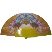 Buy cheap Stylist Design Printed Personalized Wedding Favors Hand Fan Rustic And Luxury product