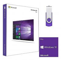 Buy cheap 32 64 Bit Windows 10 Pro Retail Box 100% Online Activation With COA License Sticker from wholesalers