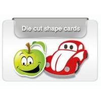 Buy cheap Die Cut plastic Cards from wholesalers