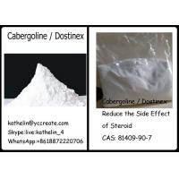Buy cheap Pharma Raw Powder Cabergoline / Dostinex Reduce the Side Effect of Steroid CAS 81409-90-7 from wholesalers