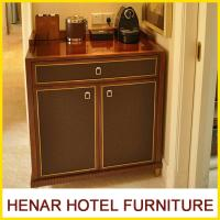 Buy cheap Wooden 5 Star Hotel Room Furniture Refrigerator Cabinet / Mahogany Fridge Cabinet from wholesalers