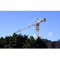 Buy cheap Self Erecting Hammer Head Tower Crane 10 ton 65 m Boom Building from wholesalers