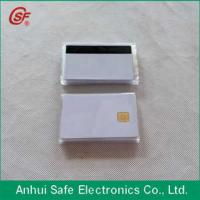 Buy cheap printable inkjet pvc chip and magnetic stripe card from wholesalers