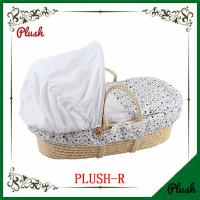 Buy cheap Factory sale cheap price straw baby moses basket ,baby bassinet ,baby carry basket from wholesalers