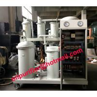 Buy cheap Lubricant Oil Flushing System,Hydraulic Oil Purifier, Oil Recycling Used Lube Oil Processing Machine by Vacuum Cleaning from wholesalers
