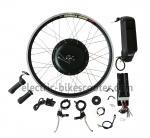 Buy cheap Bicycle 48V 350W Rear Hub Motor Electric Bike Conversion Kits 32Km / H product