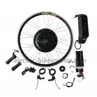 Buy cheap Bicycle 48V 350W Rear Hub Motor Electric Bike Conversion Kits 32Km / H product