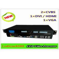 Buy cheap LED Video Module / RGB LED Modules With 4 Ethernet Ports , HDMI / DVI Video Interface from wholesalers
